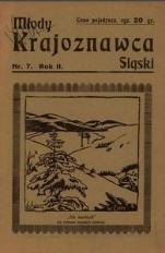 Młody Krajoznawca Śląski, 1935, R. 2, nr 7