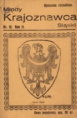 Młody Krajoznawca Śląski, 1935, R. 2, nr 12