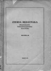Ziemia Będzińska : przeszłość, teraźniejszość, kultura. Rocznik 3