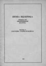 Ziemia Będzińska : przeszłość, teraźniejszość, kultura. Rocznik 4 Zagłębia Dąbrowskiego