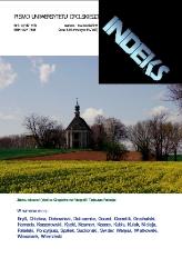 Indeks : pismo Uniwersytetu Opolskiego. 2011, nr 3-4 (117-118)