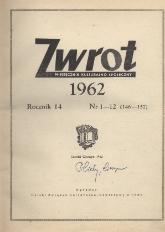 Zwrot, R. 14 (1962), Nry 1-12