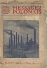 Messager Polonais. La Haute-Silésie Polonaise. Supplément special, Septembre 1928