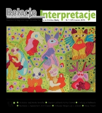 Relacje-Interpretacje, 2015, nr 1 (37)