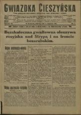 Gwiazdka Cieszyńska, 1916, Nry 1-103