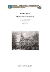 Bibliografia Siemianowic Śląskich za lata 2005-2007 (wybór)