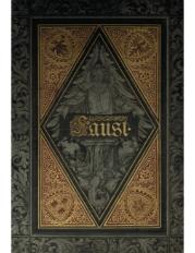 Faust: eine Tragodie von Johann Wolfgang Goethe. Cz.1