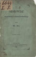 Skorowidz miejscowości b. wdztwa bracławskiego