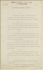 Ogłoszenie Olgerta Łątkiewicza, Delegata Ministerstwa Pracy i Opieki Spolecznej w sprawie pomocy finansowej dla uchodźców z Zaolzia, Cieszyn, 25.10.1920 r.
