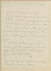 Notatki T. Regera z IX Zjazdu Krajowego PPSD Śląska i Moraw w dniu 29.06.1919 r. w Cieszynie
