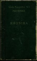 Kronika Szkoły [Powszechnej VIII Klasowa - dziś Gimnazjum nr 20(2) ]