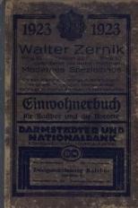 Einwohner- u. Verkehrsbuch des Stadtkreises Ratibor einschl. der Vororte Schloss Ratibor und Ostrog, 1923