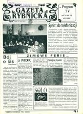 Gazeta Rybnicka, 1992, nr 3 (55)