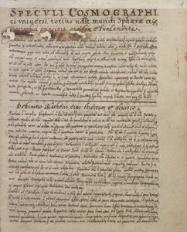Traktaty kosmologiczne, matematyczne (z zastosowaniem do astronomii) i dot. mechaniki, dyktowane przez jezuitę Georga Schönbergera