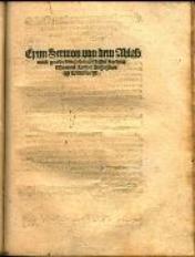 Eynn Sermon von dem Ablasz vnnd Gnade / durch... Martinii Luther...