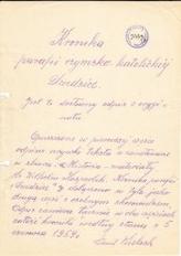 Kronika Parafii Rzymsko-Katolickiej w Dziedzicach