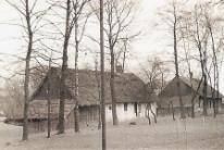 Czechowice. Grabowice ul. Wiejska 1945 r