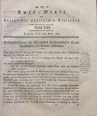 Amts-Blatt der Königlichen Oppelnschen Regierung, 1830, Bd. 15, St. 21