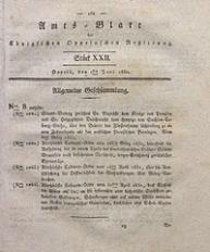 Amts-Blatt der Königlichen Oppelnschen Regierung, 1830, Bd. 15, St. 22
