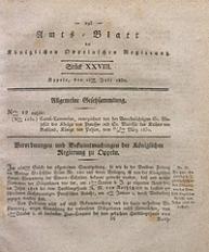 Amts-Blatt der Königlichen Oppelnschen Regierung, 1830, Bd. 15, St. 28