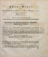 Amts-Blatt der Königlichen Oppelnschen Regierung, 1830, Bd. 15, St. 35