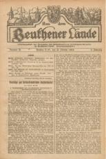 Aus dem Beuthener Lande, 1926, Jg. 3, Nr. 26