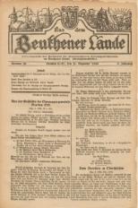 Aus dem Beuthener Lande, 1926, Jg. 3, Nr. 30