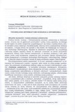 Technologie informacyjne w edukacji ustawicznej