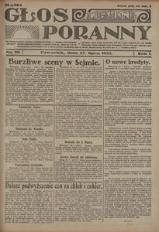 Głos Poranny, 1922, R. 1, nr 96