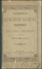 Pierwotne słowiańskie nazwiska miejscowości na Szlązku pruskim