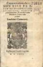 Commentatiuncula : non esse ex eventis de consilis actionibusq[ue] hominum pronuntiandum de exordio versus Ovidiani exitus acta probat