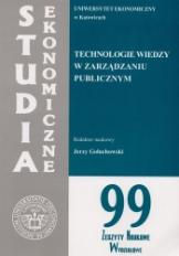 Technologie wiedzy w zarządzaniu publicznym