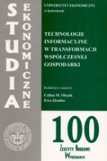 Technologie informacyjne w transformacji współczesnej gospodarki