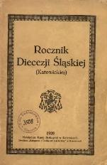 Rocznik Diecezji Śląskiej (Katowickiej), 1928