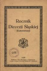 Rocznik Diecezji Śląskiej (Katowickiej), 1929