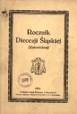 Rocznik Diecezji Śląskiej (Katowickiej), 1931