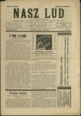 Nasz Lud na Polskim Śląsku, 1934, Nry 1-2