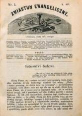 Zwiastun Ewangeliczny, 1871, nr2