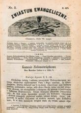 Zwiastun Ewangeliczny, 1871, nr5