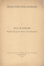 Spis nazwisk polskich żyjących rodzin utytułowanych