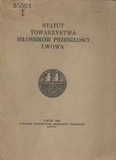 Statut Polskiego Towarzystwa Emigracyjnego we Lwowie