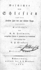 Geschichte von Schlesien aus der altesten Zeit bis auf unsere Tage T.3