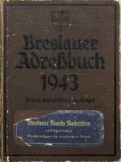 Breslauer Adreßbuch 1943