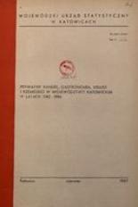 Prywatny handel, gastronomia, usługi i rzemiosło w województwie katowickim w latach 1982-1986