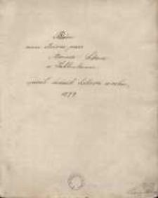 Piesni różne złożone przez Adma Sikore w Jabłonkowie, spisał Ludwik Sikora w roku 1879