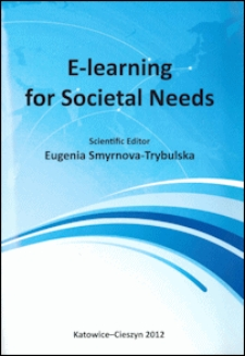 E-learning for societal needs : monograph