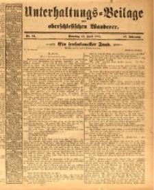 Unterhaltungs-Beilage zum oberschlesischen Wanderer, 1914, Jg. 87, nr84
