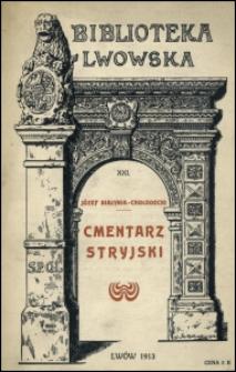 Cmentarz Stryjski we Lwowie