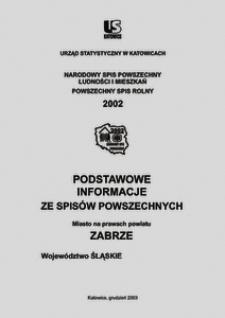 Zabrze. Województwo śląskie. Miasto na prawach powiatu