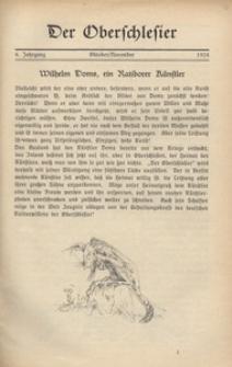 Der Oberschlesier, 1923, Jg. 6, [Heft 7]
